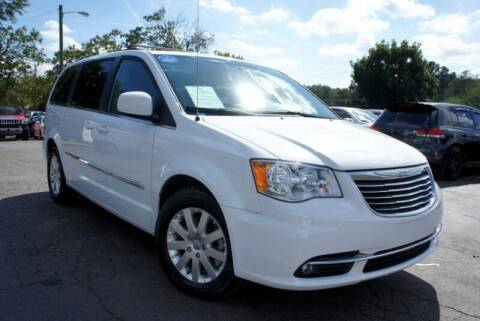 2016 Chrysler Town and Country for sale at CU Carfinders in Norcross GA