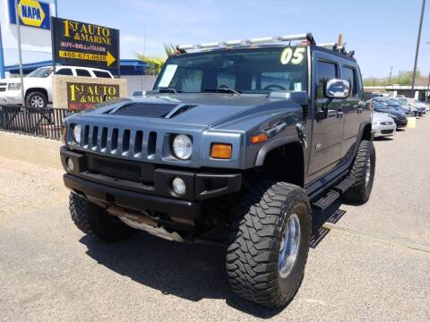 2005 HUMMER H2 SUT for sale at 1ST AUTO & MARINE in Apache Junction AZ