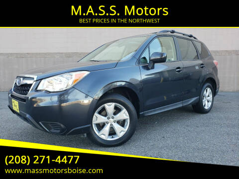 2016 Subaru Forester for sale at M.A.S.S. Motors in Boise ID