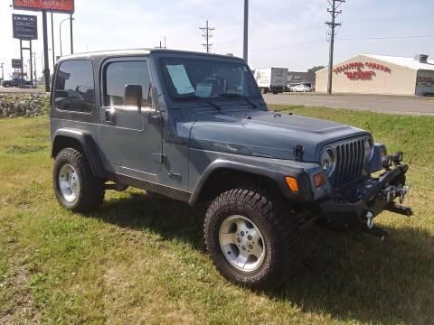 1997 Jeep Wrangler for sale at L & J Motors in Mandan ND