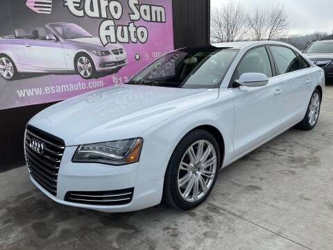 2014 Audi A8 L for sale at Euro Auto in Overland Park KS