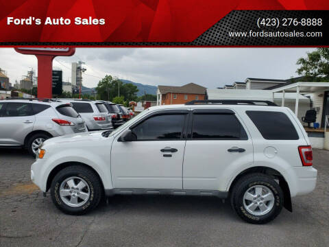 2009 Ford Escape for sale at Ford's Auto Sales in Kingsport TN