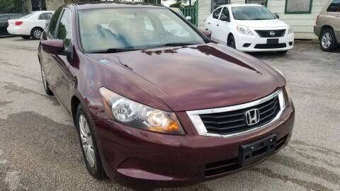 2009 Honda Accord for sale at ACE AUTOMOTIVE in Houston TX