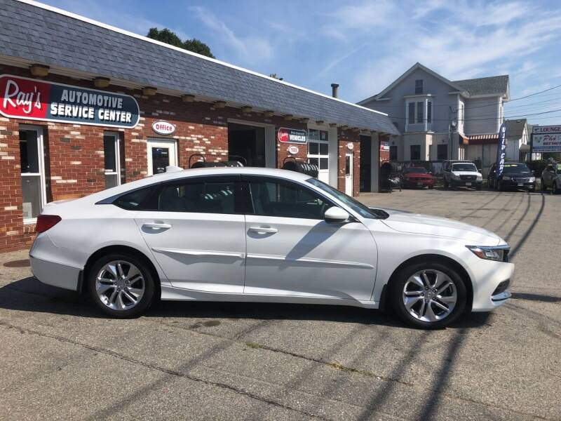 2018 Honda Accord for sale at RAYS AUTOMOTIVE SERVICE CENTER INC in Lowell MA