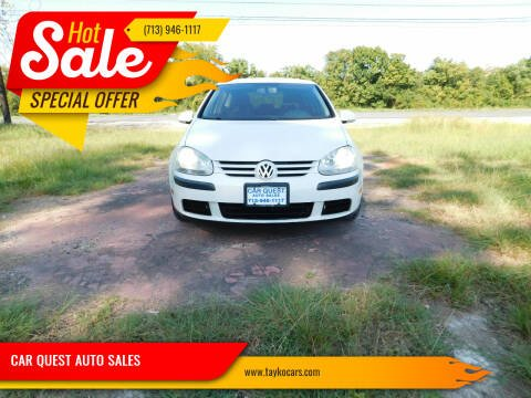 2008 Volkswagen Rabbit for sale at CAR QUEST AUTO SALES in Houston TX
