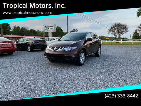 2014 Nissan Murano for sale at Tropical Motors, Inc. in Riceville TN