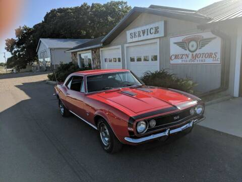 1967 Chevrolet Camaro for sale at CRUZ'N MOTORS - Classics in Spirit Lake IA