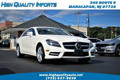 2012 Mercedes-Benz CLS for sale at High Quality Imports in Manalapan NJ