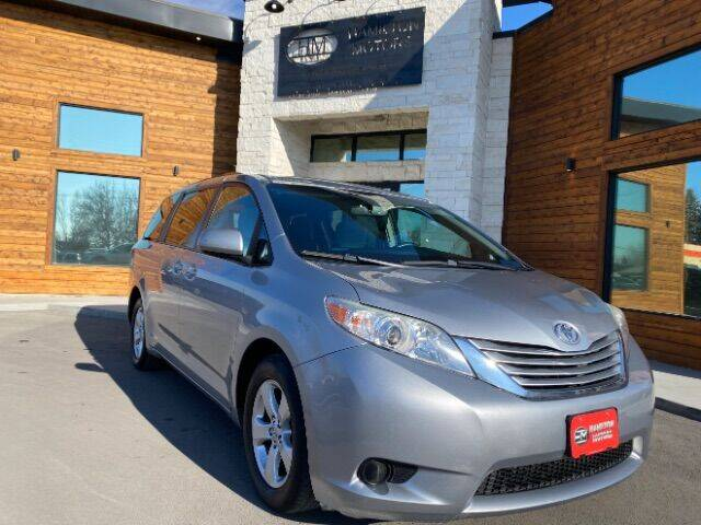 2016 Toyota Sienna for sale at Hamilton Motors in Lehi UT