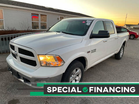 2014 RAM Ram Pickup 1500 for sale at Strait-A-Way Auto Sales LLC in Gaylord MI