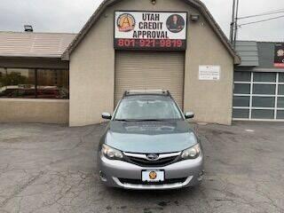2010 Subaru Impreza for sale at Utah Credit Approval Auto Sales in Murray UT