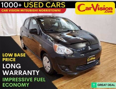 2015 Mitsubishi Mirage for sale at Car Vision Buying Center in Norristown PA