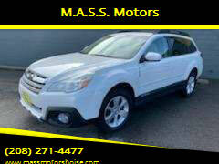 2014 Subaru Outback for sale at M.A.S.S. Motors - Emerald in Boise ID