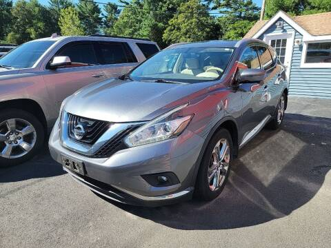2016 Nissan Murano for sale at Top Quality Auto Sales in Westport MA