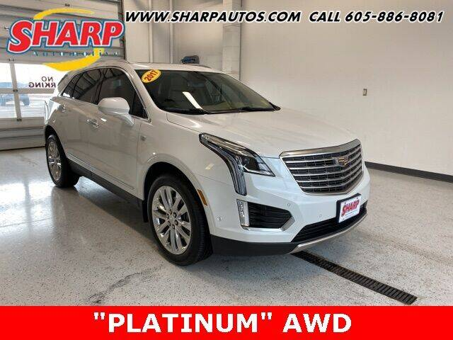 2017 Cadillac XT5 for sale at Sharp Automotive in Watertown SD