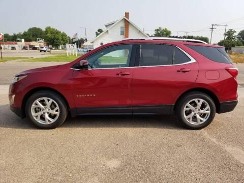 2018 Chevrolet Equinox for sale at Faw Motor Co in Cambridge NE