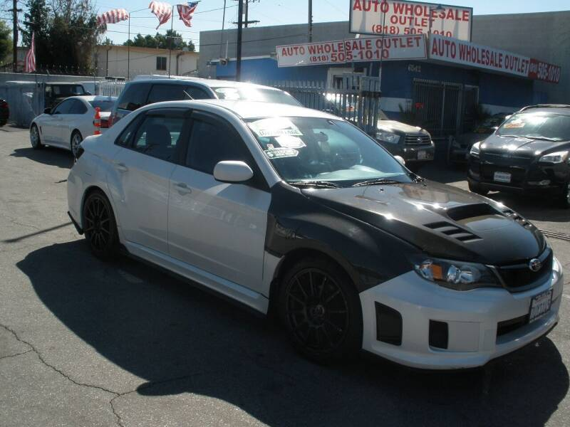 2011 Subaru Impreza for sale at AUTO WHOLESALE OUTLET in North Hollywood CA