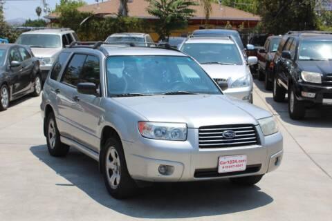 2006 Subaru Forester for sale at Car 1234 inc in El Cajon CA