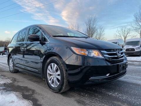 2016 Honda Odyssey for sale at HERSHEY'S AUTO INC. in Monroe NY