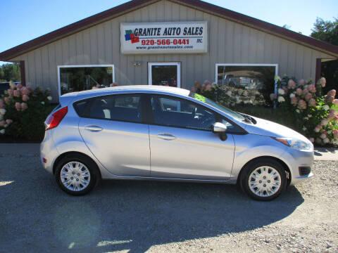 2016 Ford Fiesta for sale at Granite Auto Sales in Redgranite WI