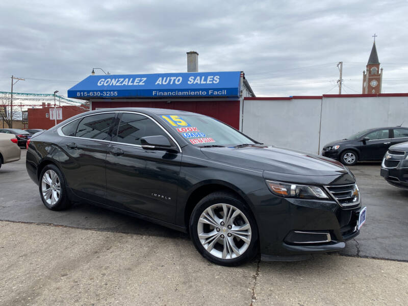 2015 Chevrolet Impala for sale at Gonzalez Auto Sales in Joliet IL
