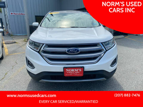 2015 Ford Edge for sale at NORM'S USED CARS INC in Wiscasset ME