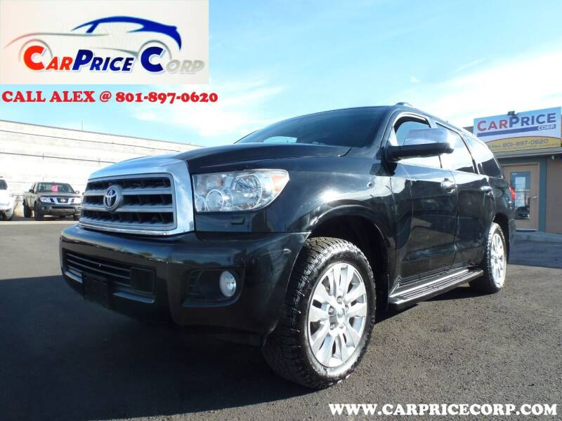 2013 Toyota Sequoia for sale at CarPrice Corp in Murray UT