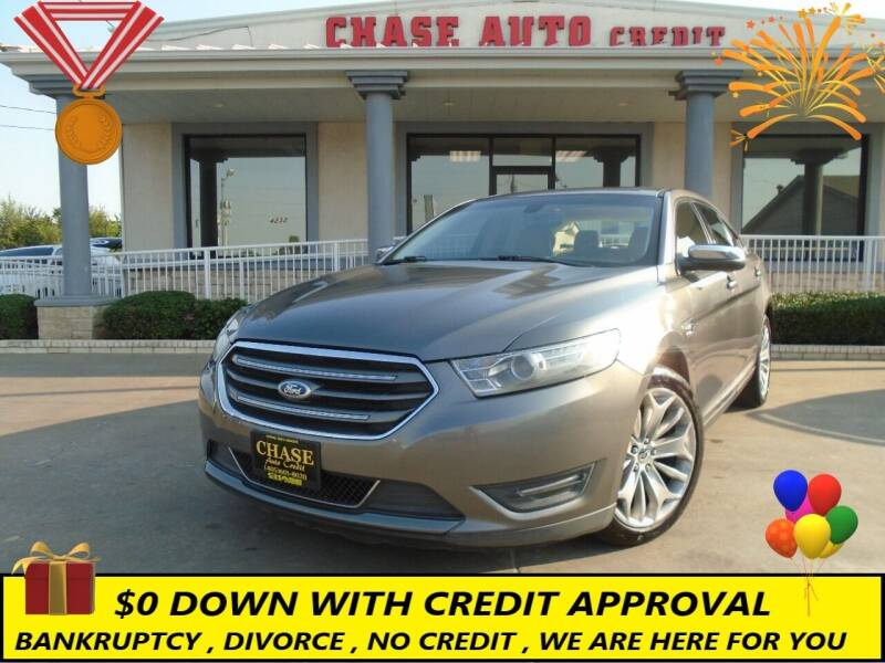 2013 Ford Taurus for sale at Chase Auto Credit in Oklahoma City OK