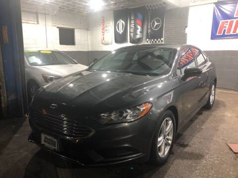 2018 Ford Fusion for sale at DEALS ON WHEELS in Newark NJ