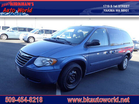 2007 Chrysler Town and Country for sale at Bruce Kirkham Auto World in Yakima WA