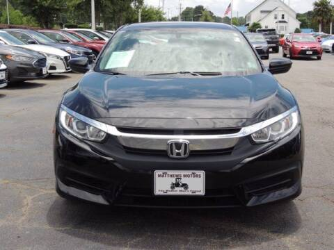 2018 Honda Civic for sale at Auto Finance of Raleigh in Raleigh NC