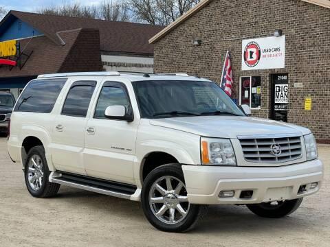 2005 Cadillac Escalade ESV for sale at Big Man Motors in Farmington MN