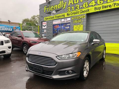 2014 Ford Fusion for sale at Friendly Auto Sales in Detroit MI
