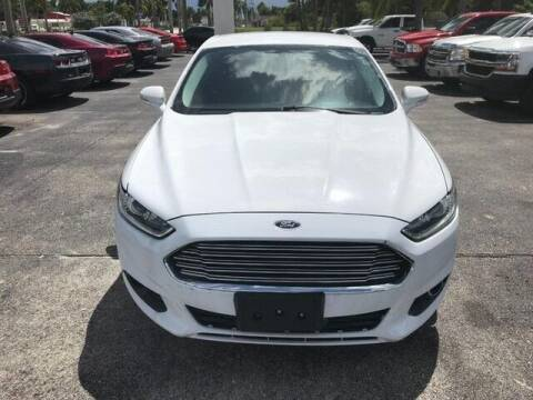 2014 Ford Fusion for sale at Denny's Auto Sales in Fort Myers FL