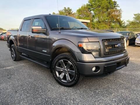 2014 Ford F-150 for sale at Mass Motors LLC in Worcester MA