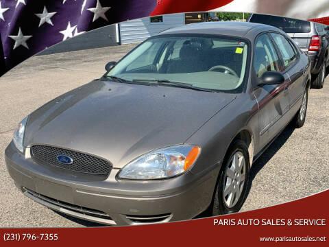 2007 Ford Taurus for sale at Paris Auto Sales & Service in Big Rapids MI