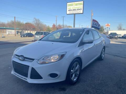 2014 Ford Focus for sale at Shock Motors in Garland TX