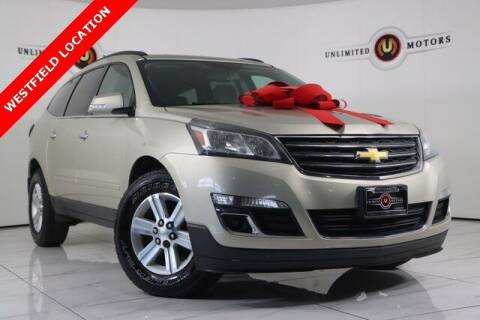 2013 Chevrolet Traverse for sale at INDY'S UNLIMITED MOTORS - UNLIMITED MOTORS in Westfield IN