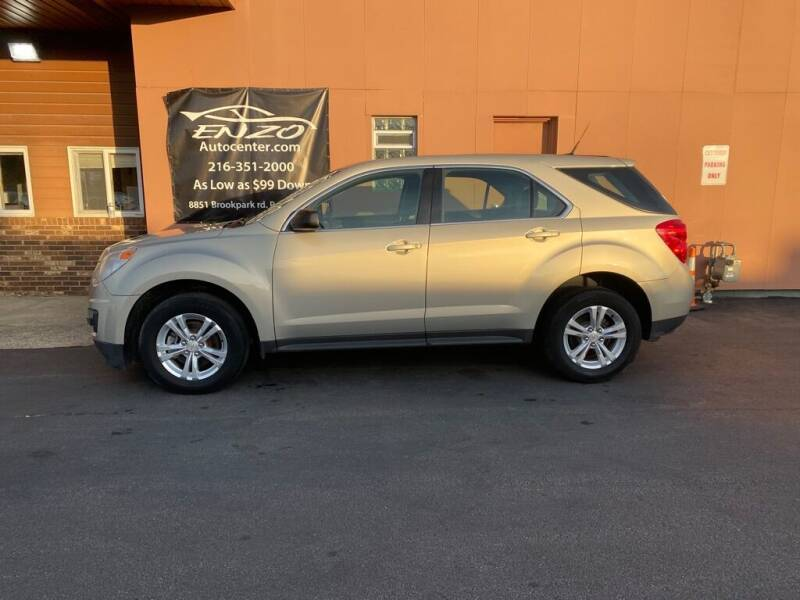 2012 Chevrolet Equinox for sale at ENZO AUTO in Parma OH