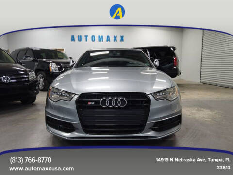2015 Audi S6 for sale at Automaxx in Tampa FL