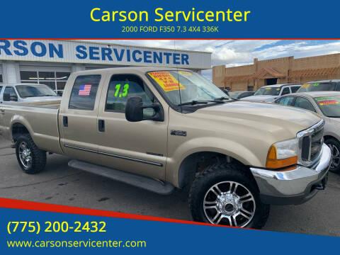 2000 Ford F-350 Super Duty for sale at Carson Servicenter in Carson City NV