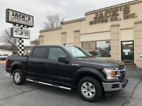 2019 Ford F-150 for sale at JACK'S MOTOR COMPANY in Van Buren AR