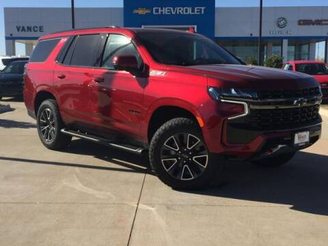 2021 Chevrolet Tahoe for sale at Vance Fleet Services in Guthrie OK