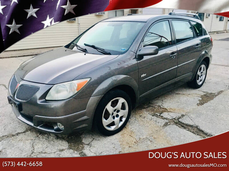 2005 Pontiac Vibe for sale at Doug's Auto Sales in Columbia MO