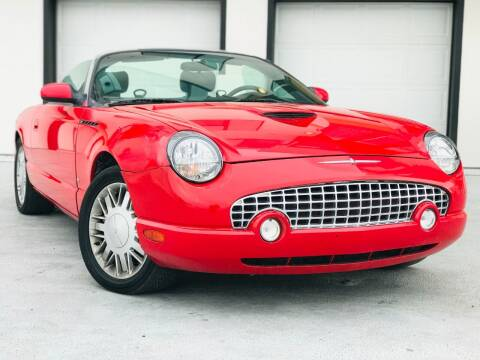 2003 Ford Thunderbird for sale at Avanesyan Motors in Orem UT