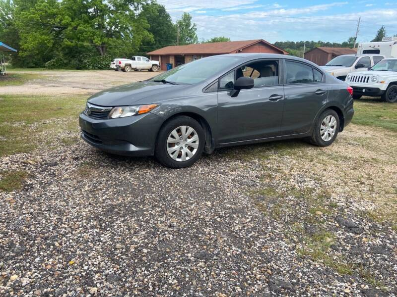 2012 Honda Civic for sale at Westside Auto Sales in New Boston TX