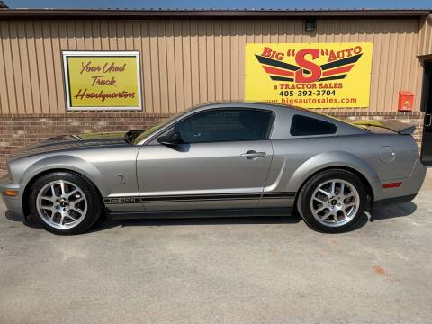 2008 Ford Shelby GT500 for sale at BIG 'S' AUTO & TRACTOR SALES in Blanchard OK