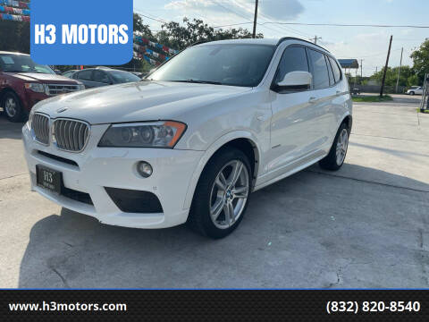 2011 BMW X3 for sale at H3 MOTORS in Dickinson TX
