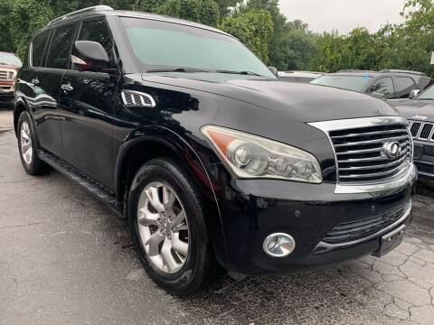 2013 Infiniti QX56 for sale at Magic Motors Inc. in Snellville GA
