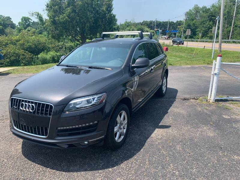 2015 Audi Q7 for sale at Lux Car Sales in South Easton MA